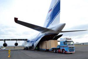 Цена организации международных транспортных воздушных перевозок грузов